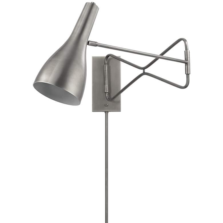 Jamie Young Lenz Gray Gun Metal Plug-In Swing
