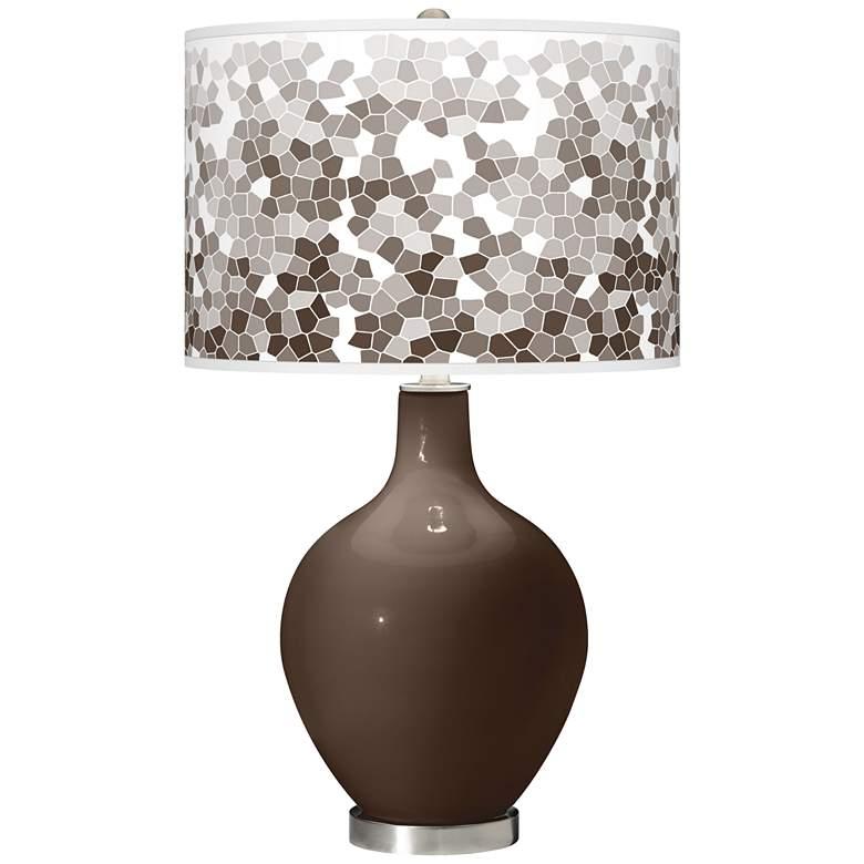 Carafe Mosaic Giclee Ovo Table Lamp