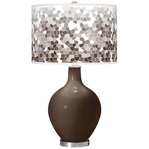 Carafe Mosaic Giclee Ovo Table Lamp