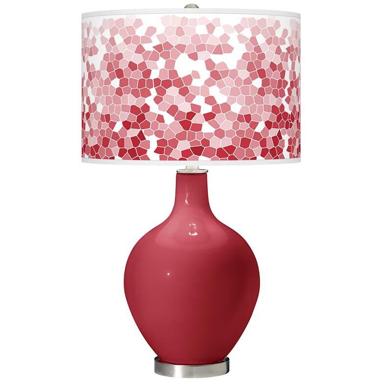 Samba Mosaic Giclee Ovo Table Lamp
