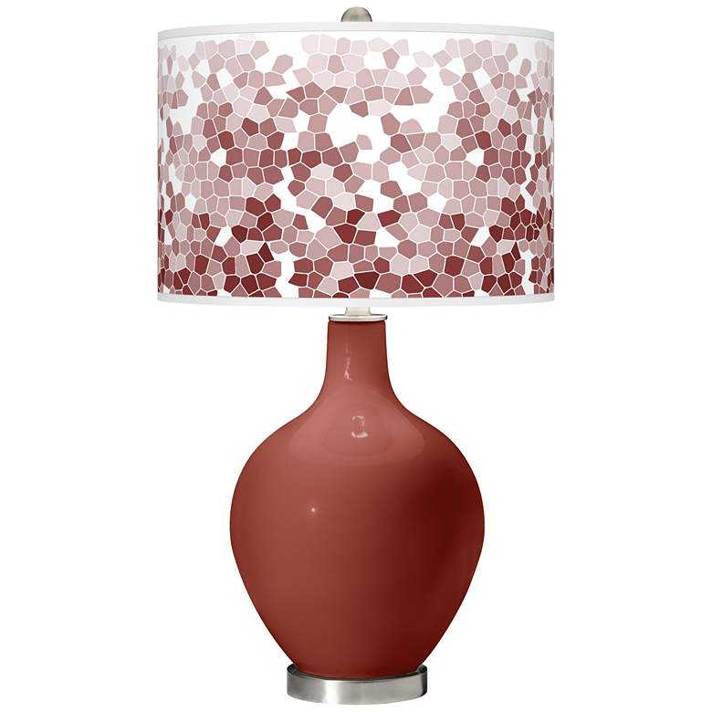 Madeira Mosaic Giclee Ovo Table Lamp