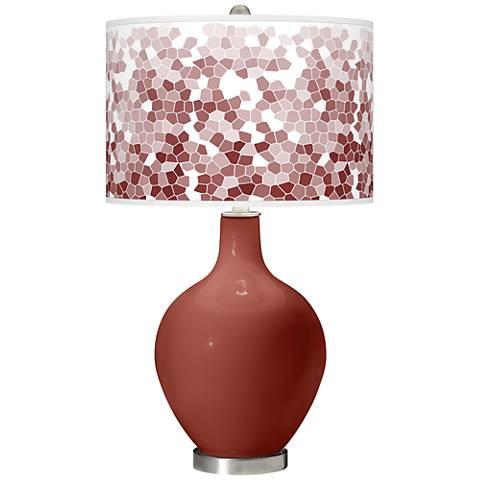 Madeira Mosaic Giclee Ovo Table Lamp