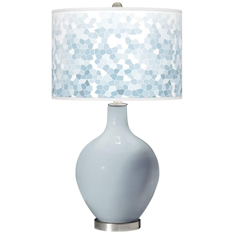 Take Five Mosaic Giclee Ovo Table Lamp