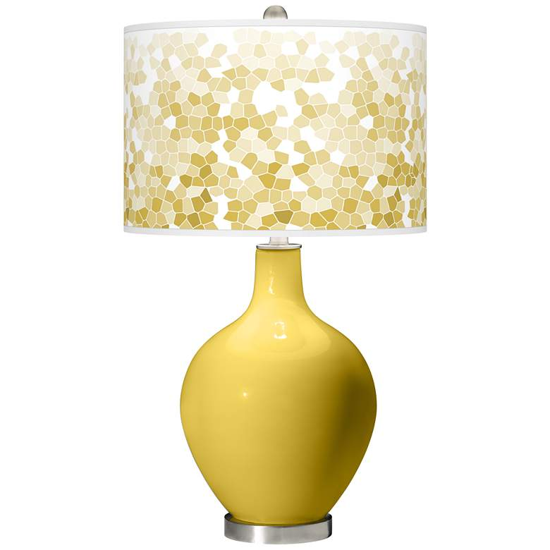 Nugget Mosaic Giclee Ovo Table Lamp