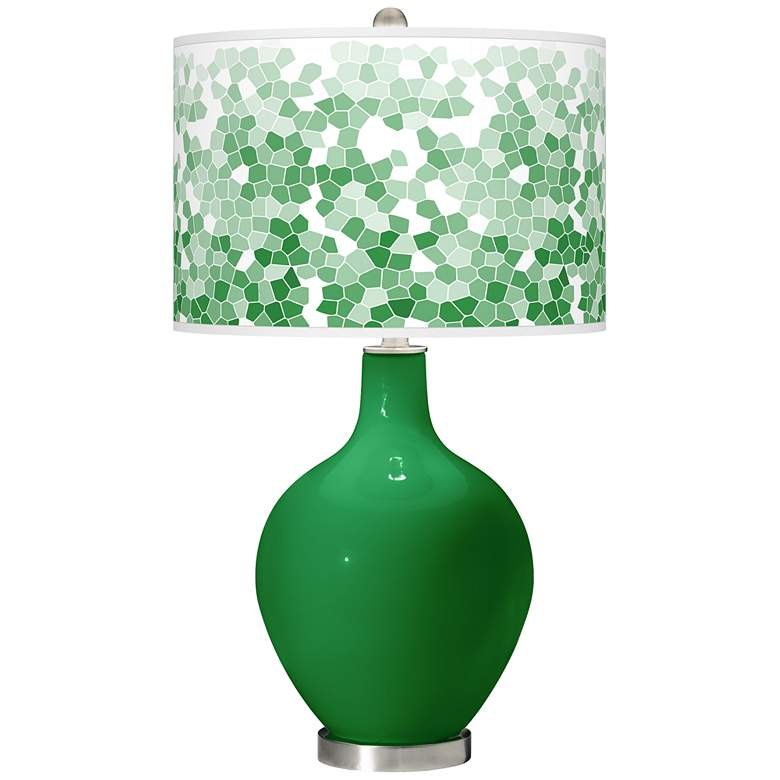 Envy Mosaic Giclee Ovo Table Lamp