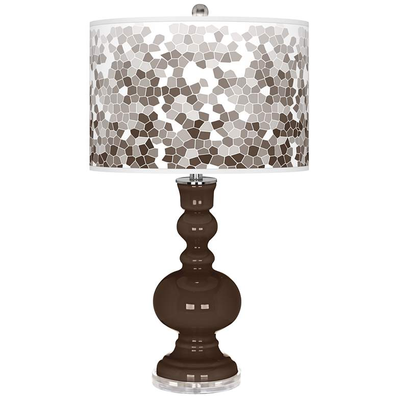 Carafe Mosaic Giclee Apothecary Table Lamp