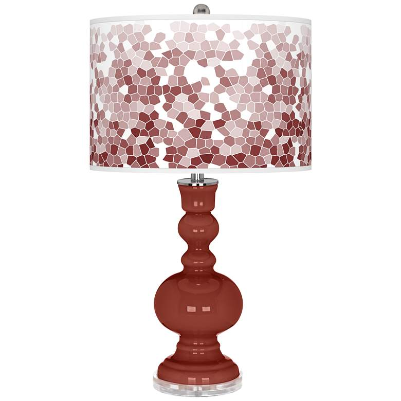 Madeira Mosaic Giclee Apothecary Table Lamp