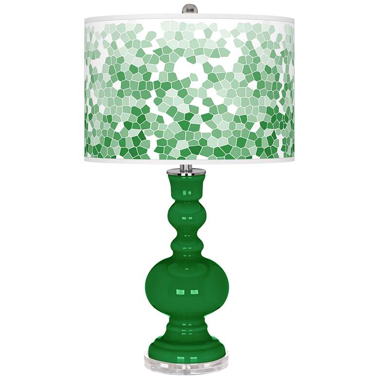 Envy Mosaic Giclee Apothecary Table Lamp