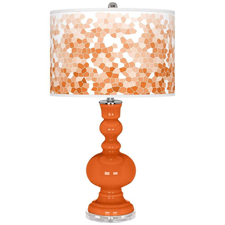 Invigorate Mosaic Giclee Apothecary Table Lamp