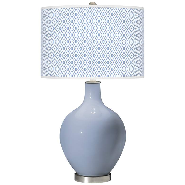 Blue Sky Diamonds Ovo Table Lamp