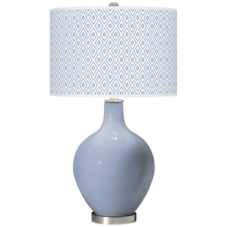 Blue Sky Diamonds Ovo Table Lamp