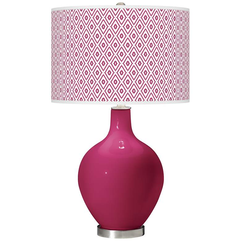 Vivacious Diamonds Ovo Table Lamp