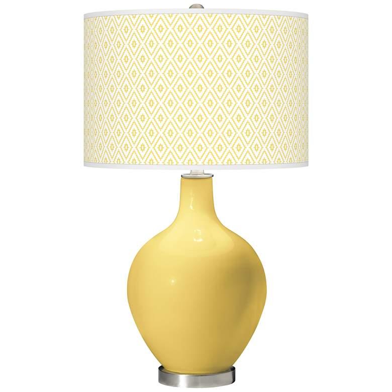 Daffodil Diamonds Ovo Table Lamp