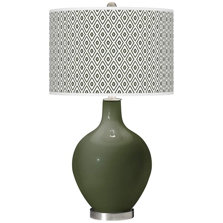 Secret Garden Diamonds Ovo Table Lamp