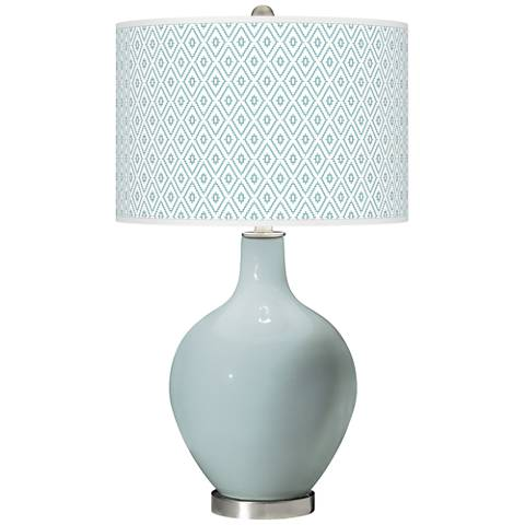 Rain Diamonds Ovo Table Lamp