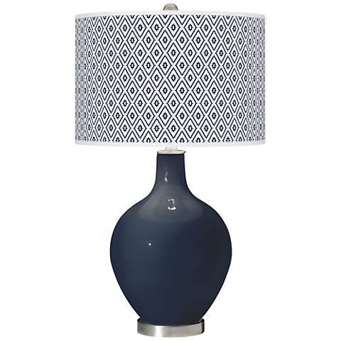 Naval Diamonds Ovo Table Lamp