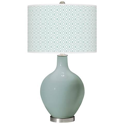 Aqua-Sphere Diamonds Ovo Table Lamp
