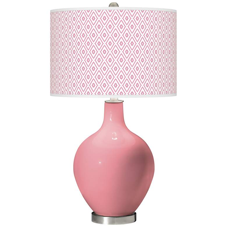 Haute Pink Diamonds Ovo Table Lamp