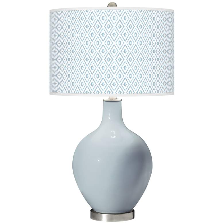 Take Five Diamonds Ovo Table Lamp