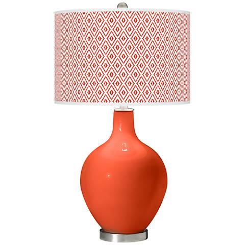 Daredevil Diamonds Ovo Table Lamp