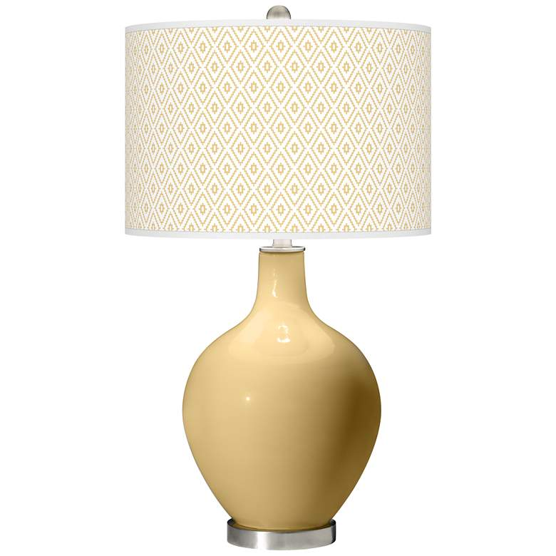 Humble Gold Diamonds Ovo Table Lamp