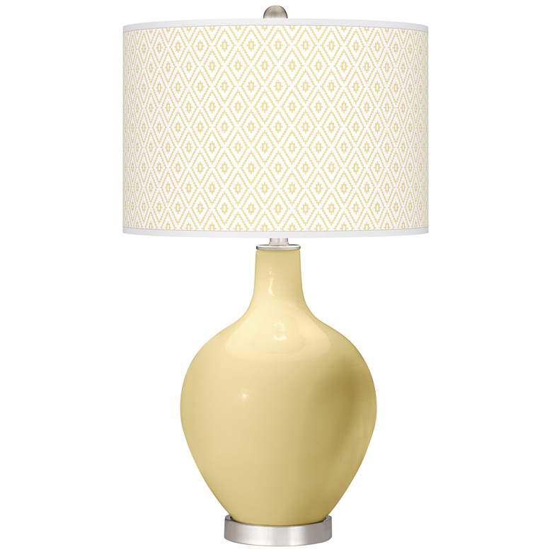 Butter Up Diamonds Ovo Table Lamp