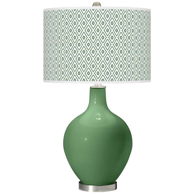 Garden Grove Diamonds Ovo Table Lamp
