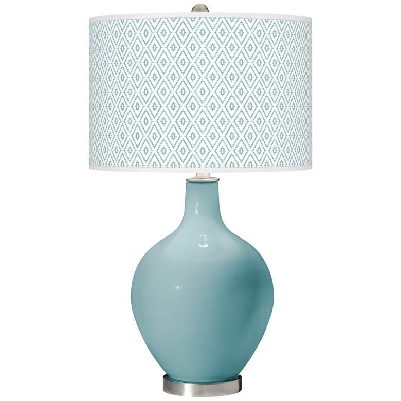Raindrop Diamonds Ovo Table Lamp