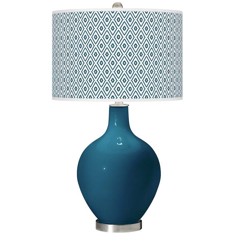 Oceanside Diamonds Ovo Table Lamp
