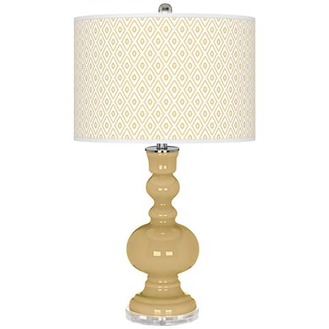 Humble Gold Diamonds Apothecary Table Lamp