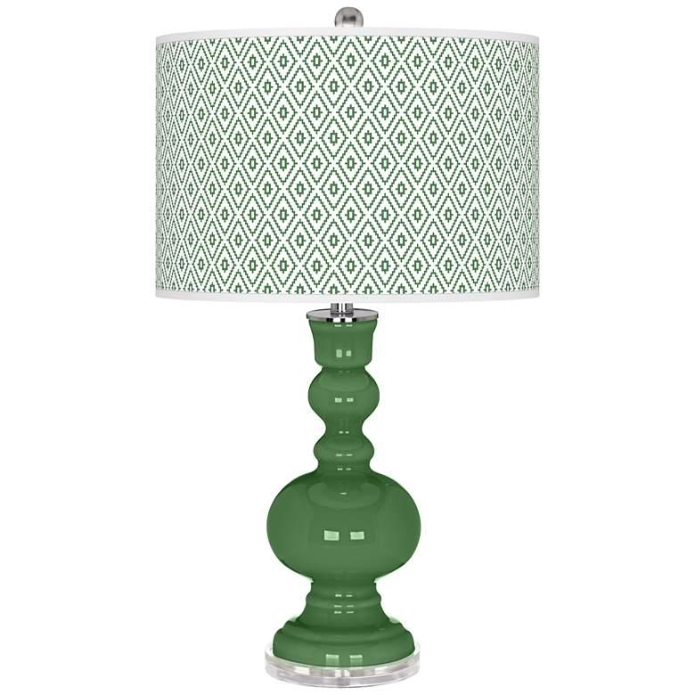 Garden Grove Diamonds Apothecary Table Lamp