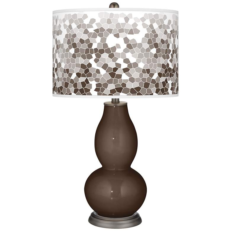 Carafe Mosaic Giclee Double Gourd Table Lamp