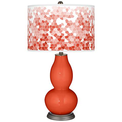 Daredevil Mosaic Giclee Double Gourd Table Lamp
