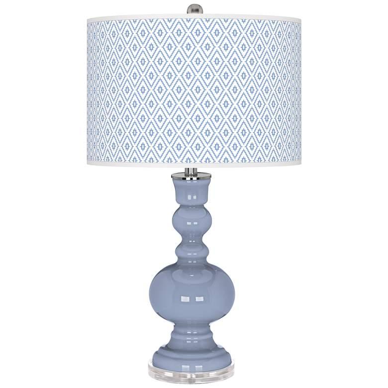 Blue Sky Diamonds Apothecary Table Lamp