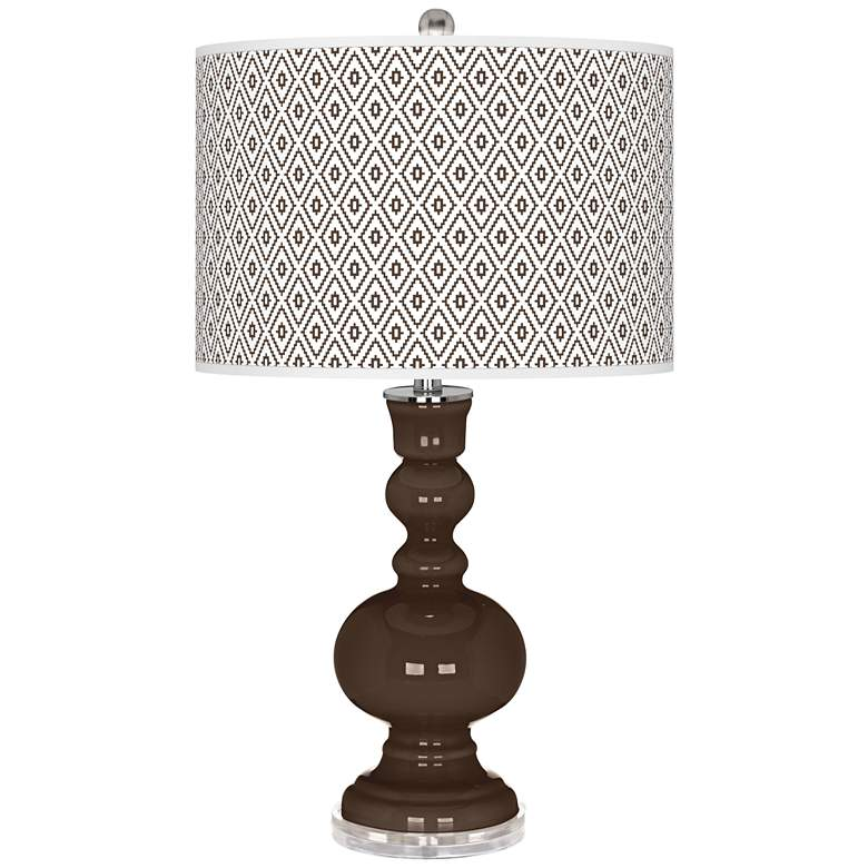 Carafe Diamonds Apothecary Table Lamp