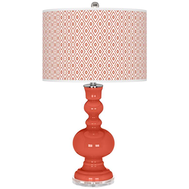 Koi Diamonds Apothecary Table Lamp by Color Plus