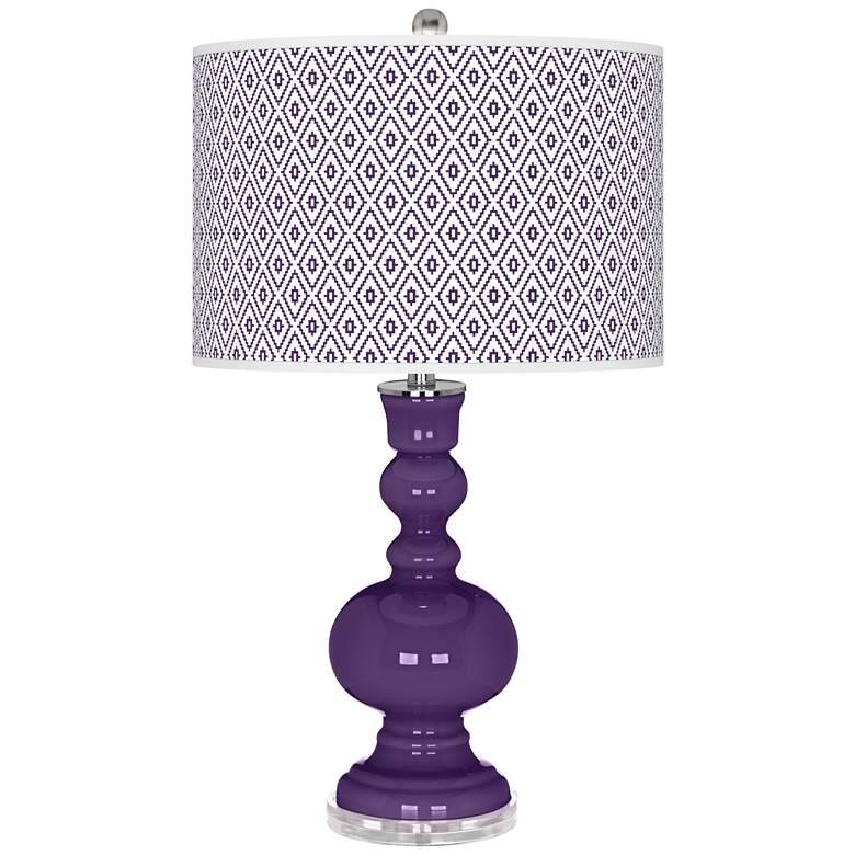 Acai Diamonds Apothecary Table Lamp