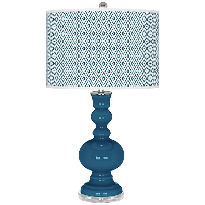 Bosporus Diamonds Apothecary Table Lamp