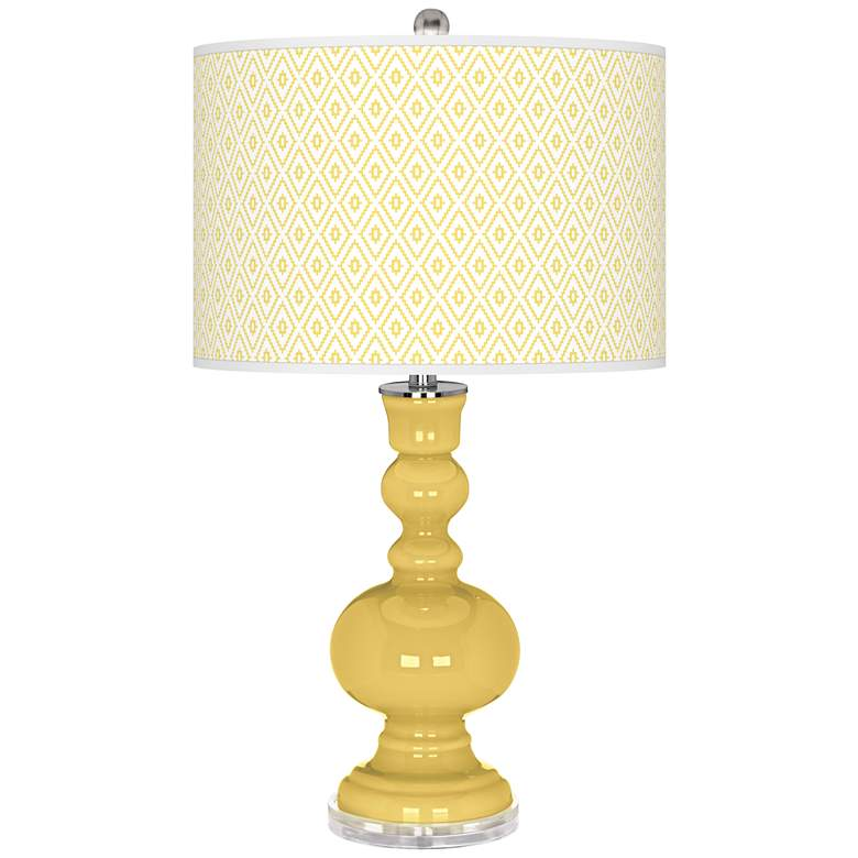 Daffodil Diamonds Apothecary Table Lamp