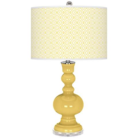 Daffodil Diamonds Apothecary Table Lamp