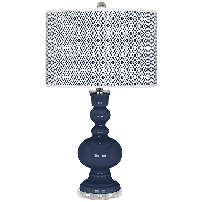 Naval Diamonds Apothecary Table Lamp