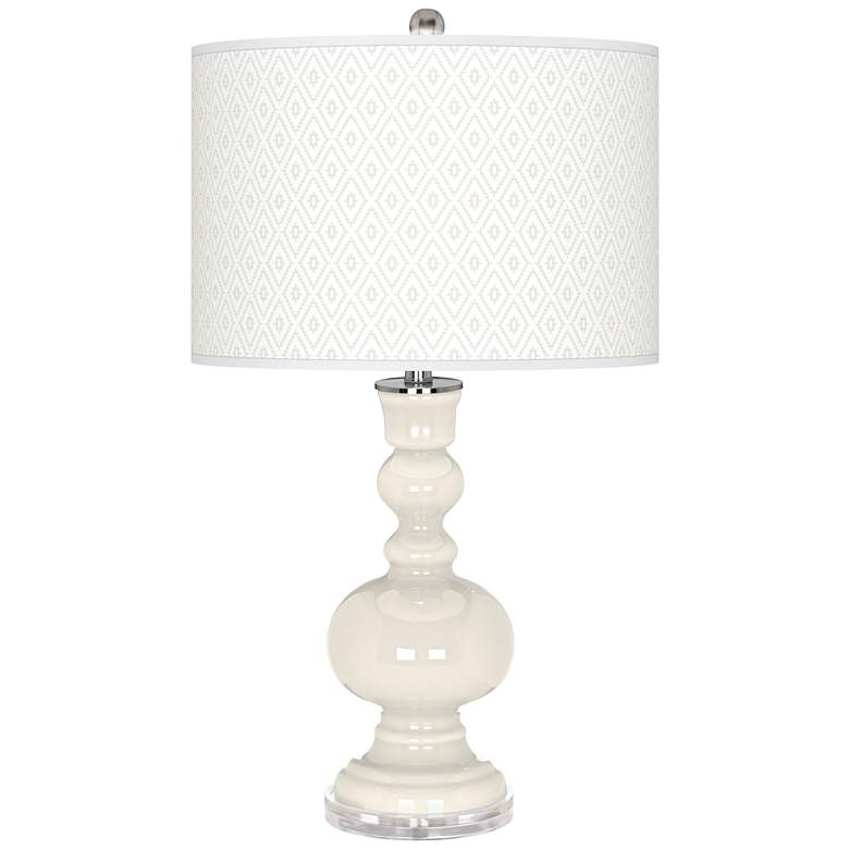 West Highland White Diamonds Apothecary Table Lamp