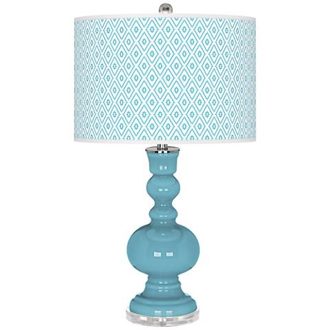 Nautilus Diamonds Apothecary Table Lamp