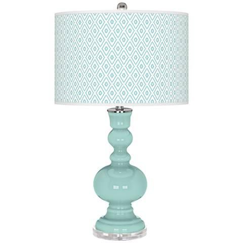 Cay Diamonds Apothecary Table Lamp