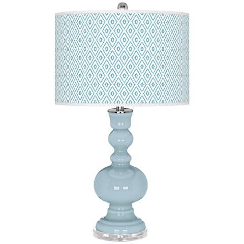 Vast Sky Diamonds Apothecary Table Lamp