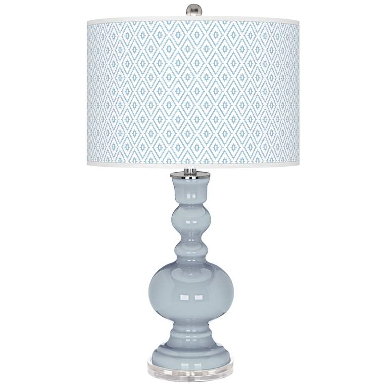 Take Five Diamonds Apothecary Table Lamp