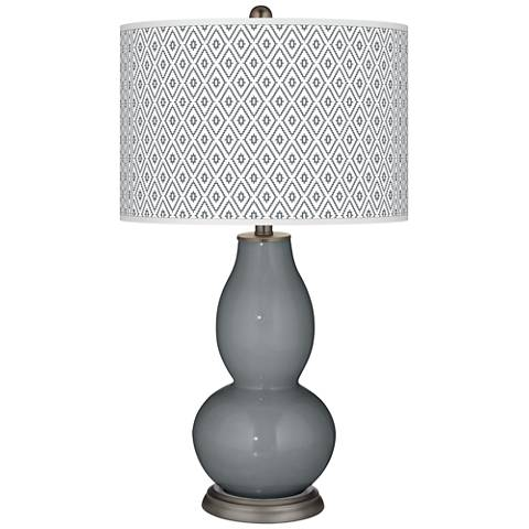 Software Diamonds Double Gourd Table Lamp