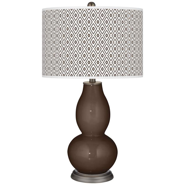 Carafe Diamonds Double Gourd Table Lamp