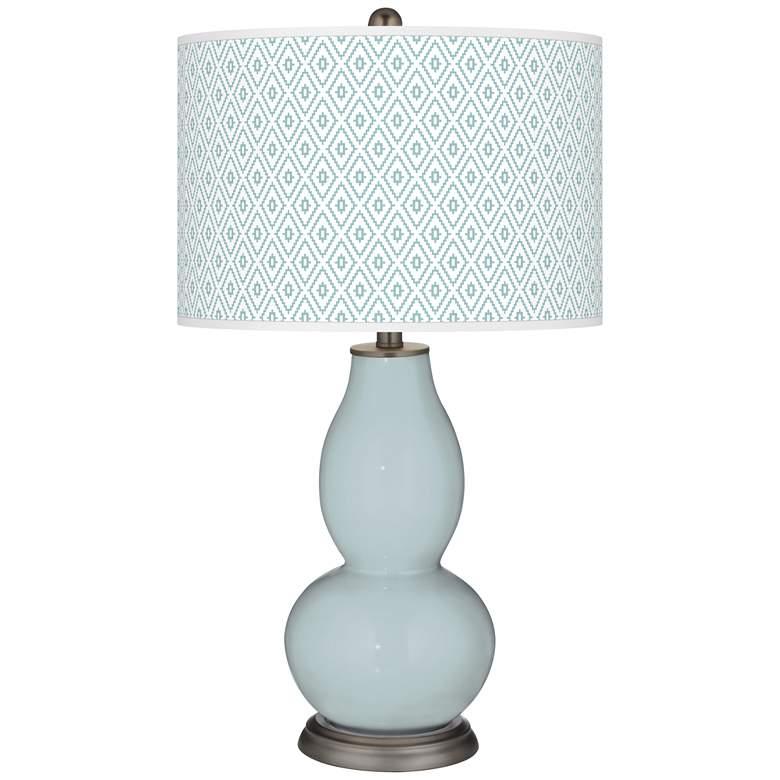 Rain Diamonds Double Gourd Table Lamp