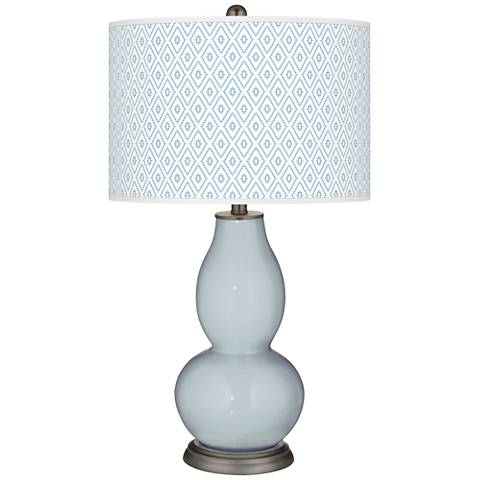 Take Five Diamonds Double Gourd Table Lamp